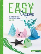 Easy origami ; 24 modèles très faciles pour débuter en origami - Couverture - Format classique