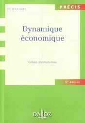Dynamique économique (9e édition) - Intérieur - Format classique