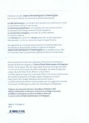 Enjeux Diplomatiques Et Stratégiques 2004 - 4ème de couverture - Format classique