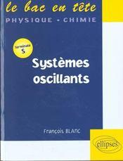 Systemes Oscillants Terminale S - Intérieur - Format classique