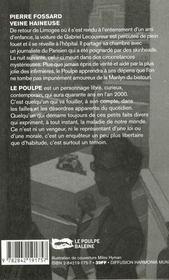 Veine Haineuse - 4ème de couverture - Format classique
