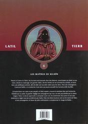 Les guerriers t.6 ; les maîtres de Kelhin - 4ème de couverture - Format classique