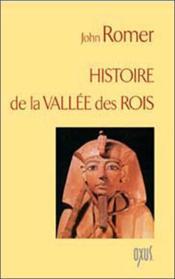 Histoire de la vallée des rois - Couverture - Format classique