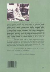Le passé vivant - 4ème de couverture - Format classique