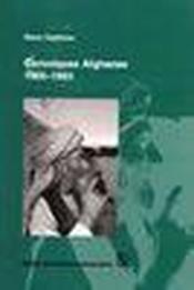 Chroniques afghanes 1965-1993 - Couverture - Format classique
