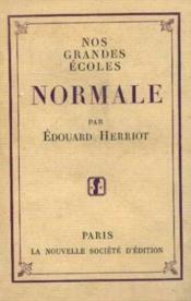 Normale - Couverture - Format classique