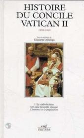 Histoire du concile vatican ii :le catholicisme vers une nouvelle e - Couverture - Format classique