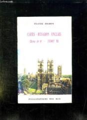 Cours Revision Anglais Classe De 6 Livret B. - Couverture - Format classique