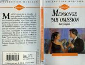 Mensonge Par Omission - A Warning Of Magic - Couverture - Format classique