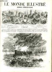 LE MONDE ILLUSTRE N°66 Incendie du Gillchrest dans le port du Havre. - Couverture - Format classique