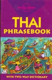 Thai Phrasebook 4 - Couverture - Format classique