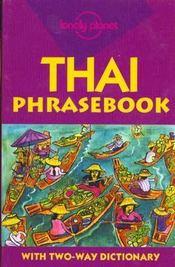 Thai Phrasebook 4 - Intérieur - Format classique