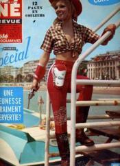 Cine Revue - Tele-Programmes - 47e Annee - N° 17 - Couverture - Format classique