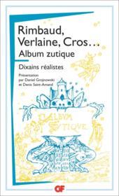 Album zutique ; dixains réalistes - Couverture - Format classique