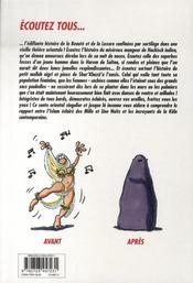 Djinn djinn t.1 ; le sortilège de Sa'âdât - 4ème de couverture - Format classique