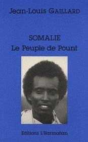 Somalie, le peuple de pount - Couverture - Format classique