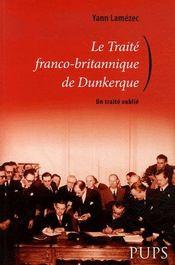 Le traité franco-britannique de dunkerque - Intérieur - Format classique