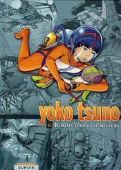 Yoko Tsuno ; INTEGRALE VOL.6 ; robots d'ici et d'ailleurs - Couverture - Format classique