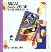Sans titre , bram van velde - Intérieur - Format classique