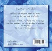 Jardin secret - 4ème de couverture - Format classique