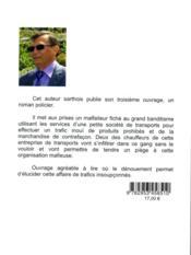 Trafics Insoupconnes - 4ème de couverture - Format classique