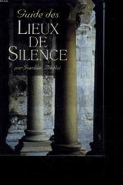 Guide des lieux de silence - Couverture - Format classique