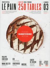 Omnivore Food Book N.3 ; Le Pain - Couverture - Format classique