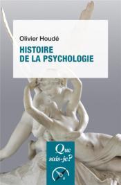 Histoire de la psychologie - Couverture - Format classique