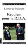 Requiem Pour La R.D.A.