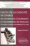 Calcul De La Capacite De Charge Des Engrenages Cylindriques De Transmission De Puissance Presentati