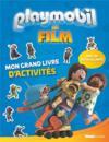 Playmobil ; le film ; mon grand livre d