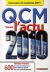 QCM toute l'actu 2010 concours et examens 2011