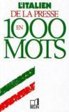 L'italien de la presse en 1000 mots