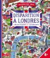 Disparition à Londres ; livre avec carte