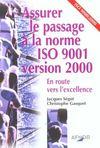 Assurer Passage Norme Iso 9001