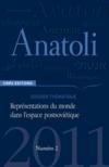 Revue Anatoli T.2 ; Représentations Du Monde Dans L'Espace Postsoviétique