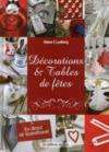 Décorations et tables de fêtes ; en direct de Scandinavie
