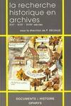 La recherche historique en archives