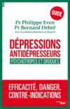 Dépressions, antidépresseurs, psychotropes et drogues