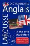 Dictionnaire Larousse micro anglais ; français-anglais / anglais-français