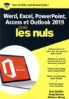 Word, Excel, Powerpoint et Outlook mégapoche pour les nuls (édition 2019)