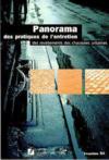 Panorama des pratiques de l'entretien des revêtements des chaussées urbaines ; enquêtes 1994