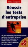 Reussir les tests d'entreprise