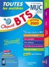 Objectif BTS ; MUC 2020 ; toutes les matières