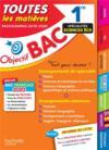 Objectif bac ; 1re enseignements communs + spécialités maths-SES-histoire-géo (édition 2020)