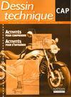 Dessin technique ; CAP ; pochette de l'élève (édition 2000)