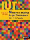 Mesure et analyse des performances ; IUT GEA ; 1ère et 2ème années (édition 2011)