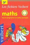Mathematiques 3e ; College
