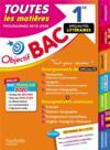 Objectif bac ; 1re enseignements communs + spécialités lettres-langues-histoire-géo bac 2020 (édition 2019/2020)