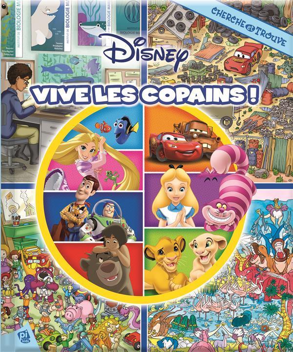 Cherche Et Trouve T 30 Disney Vive Les Copains
